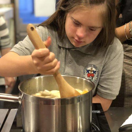 Virtual Dickie's Cooking School