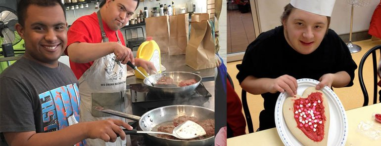 Monthly Cooking Program at Dickie's Cooking School