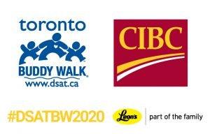 cibc buddy walk signage 1