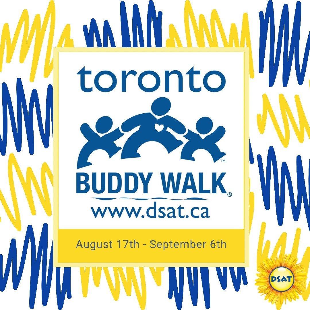 Buddy Walk - Blue Logo